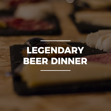 Legendary Beer Dinner
